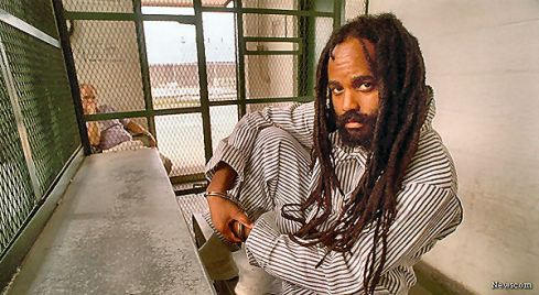 Former Black Panther and convicted cop killer Mumia Abu-Jamal, seen in this undated file photo, will be spared the death penalty, the Philadelphia district attorney announced on Wednesday, December 7, 2011, bringing a quiet end to a racially charged case that spanned 30 years. (April Saul/Philadelphia Inquirer/MCT)